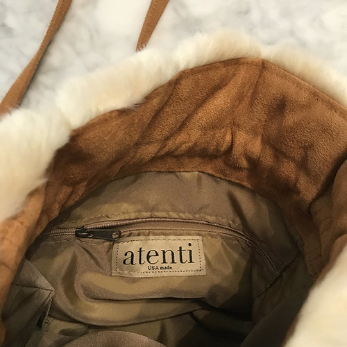 Atenti Gathered Bag - Sable (SABLE)