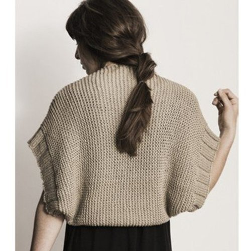 Blue Sky Fibers Afton Shrug PDF -  ()