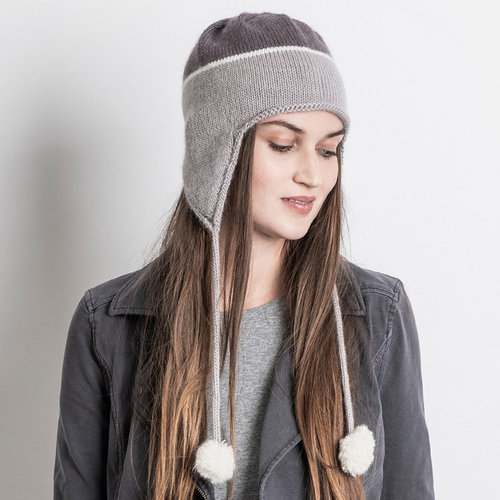 Blue Sky Fibers Kensington Hat Kit - Model Colorway (MODL)