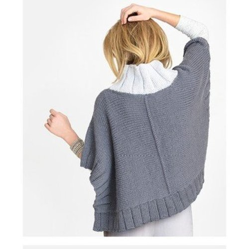 Blue Sky Fibers Two Harbors Poncho PDF -  ()