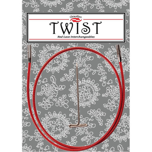 ChiaoGoo Twist Red Lace Interchangeable Cable -  ()