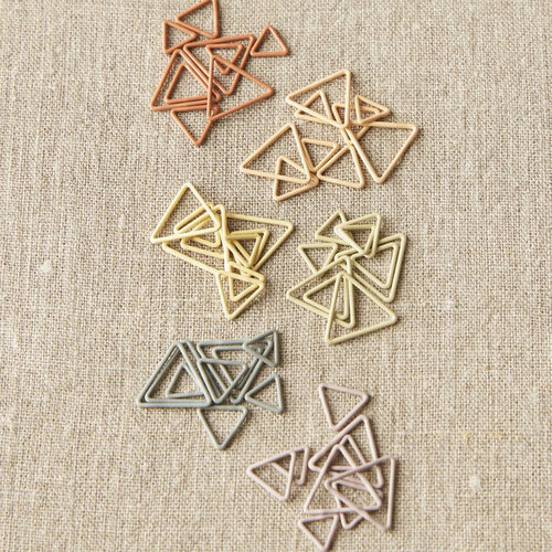 Cocoknits Triangle Stitch Markers - Earth Tones -  ()