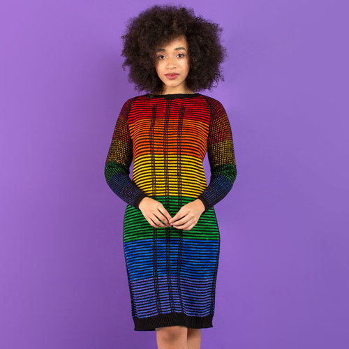 Julie Knits in Paris Glamazon - Camp Color/Rainbow is My Favorite Color Collection PDF -  ()