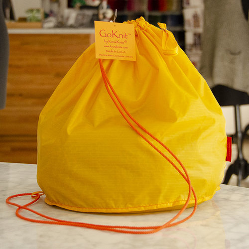 KnowKnits Go Knit Large Bag - Dandelion (DAND)