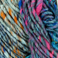 Noro Kagayaki - Blue, Brown, Fuchsia (031)