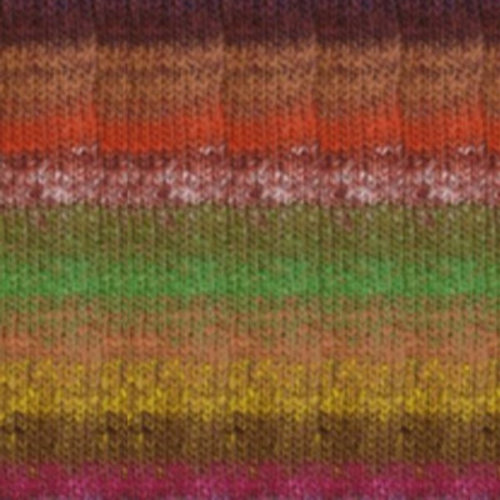 Noro Taiyo Overstock Colors - Greens, Orange, Yellow (089)