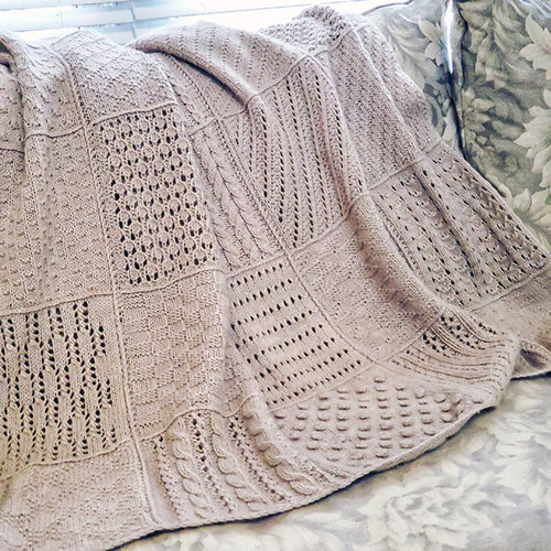 Sampler Blanket KAL - Wednesdays, March 3rd - May 26, 11:15am-12:45pm -  ()