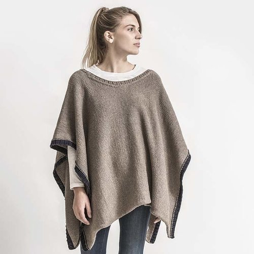 Spud & Chloe by Blue Sky Fibers Big Splash Poncho Kit - S/M (01)