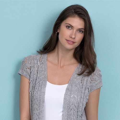 Stacy Charles Fine Yarns Casey Hi-Lo Vest Kit -  ()