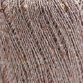 Stacy Charles Fine Yarns Crystal - Brown With Brown Sequins (18)
