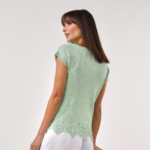 Stacy Charles Fine Yarns Leah Tee PDF -  ()