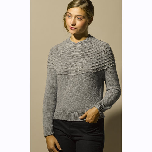 Stacy Charles Fine Yarns Monroe Pullover PDF -  ()