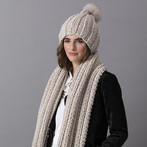 String Ashley Hat & Scarf PDF -  ()