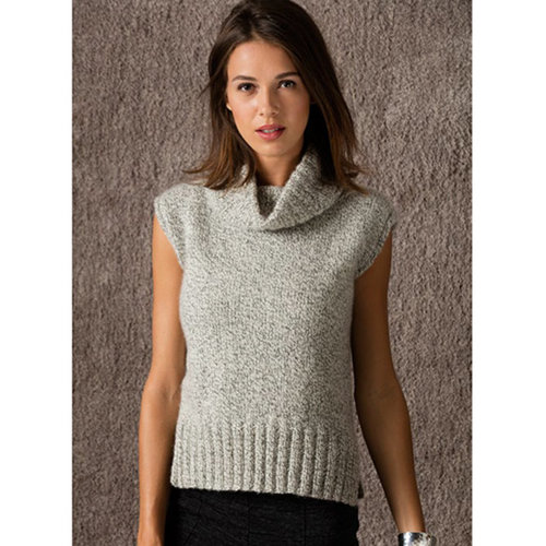 String Berkshires Turtleneck Vest PDF -  ()