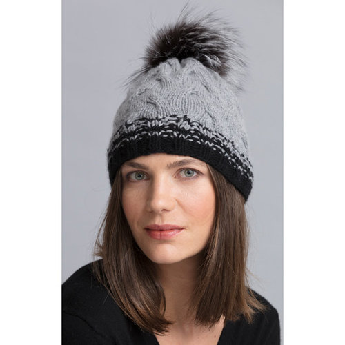 String Carey Cabled Hat PDF -  ()