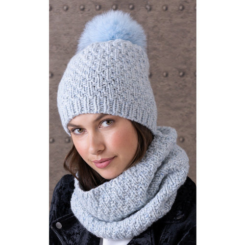 String Emily Hat & Cowl Kit - Model (01)