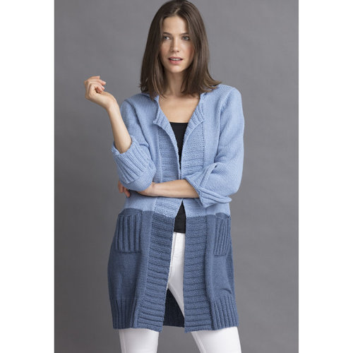 String January Colorblock Cardigan PDF -  ()