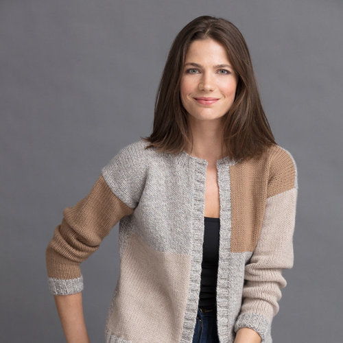 String Linda Colorblock Cardigan PDF -  ()
