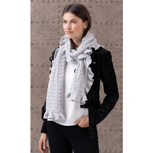 String Lorelie Cabled Scarf PDF -  ()