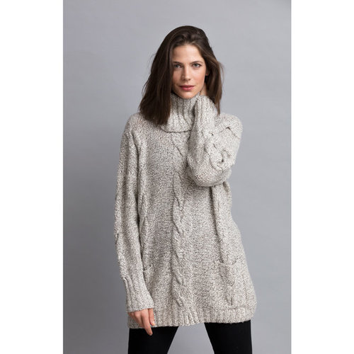 "String Marilyn Oversized Turtleneck Kit - 38.75"" (01)"