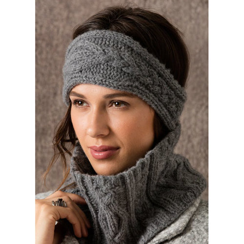 String Park City Cabled Headband & Cowl PDF -  ()