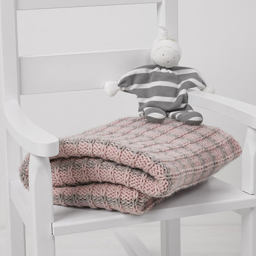 String Slipped Stitch Baby Blanket PDF -  ()