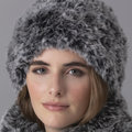 String Sophia Fur Hat Kit - Grey (01)