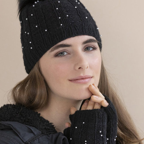 String Starry Night Hat & Mitts Kit -  ()
