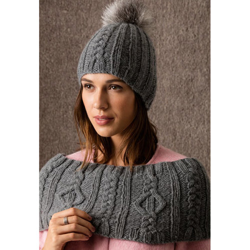 String Sun Valley Hat & Capelet/Cowl PDF -  ()
