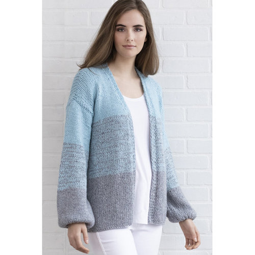 "String Varick Ombré Cardigan Kit - 37.5-41.5"" (01)"