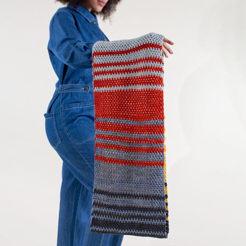 TL Yarn Crafts LoFi Cowl - Camp Color/High Fidelity Collection Kit - Model (01)